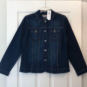 Chico's NWT perfect stretch denim/jean jacket